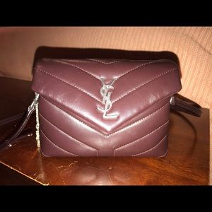 Saint Laurent Bags - YSL TOY LOU LOU BLACK TULIP LIKE NEW 💕Price firm